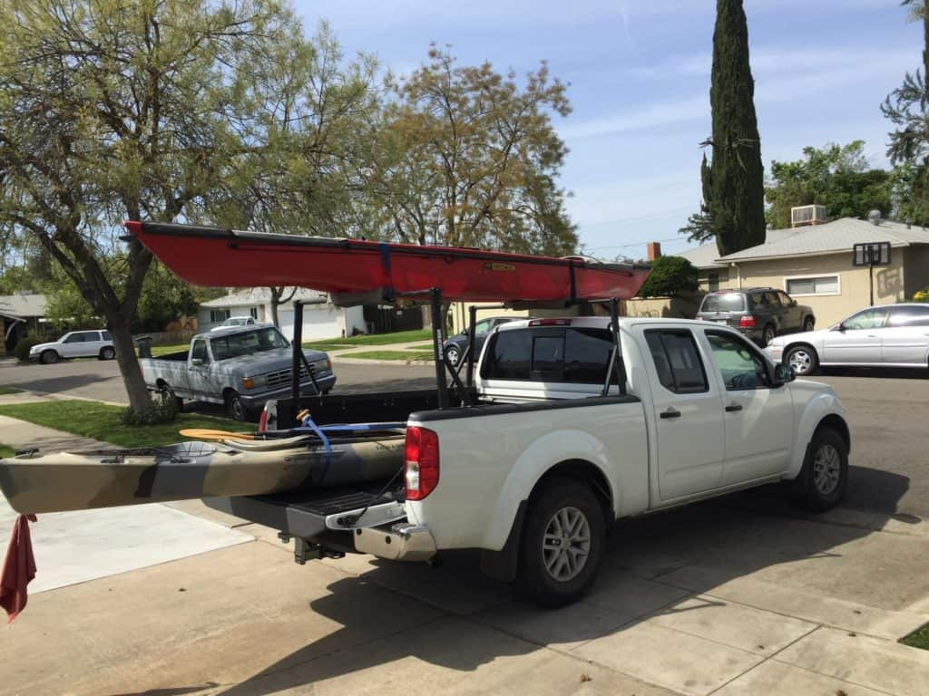 The Yakima Outdoors Man 300 Is Extremely Easy To Install Because No Drilling Required It Will Just Clamp Right Onto Rails Of Your Truck Bed
