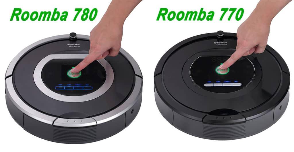 Irobot Roomba 770 Vs 780 Comparison
